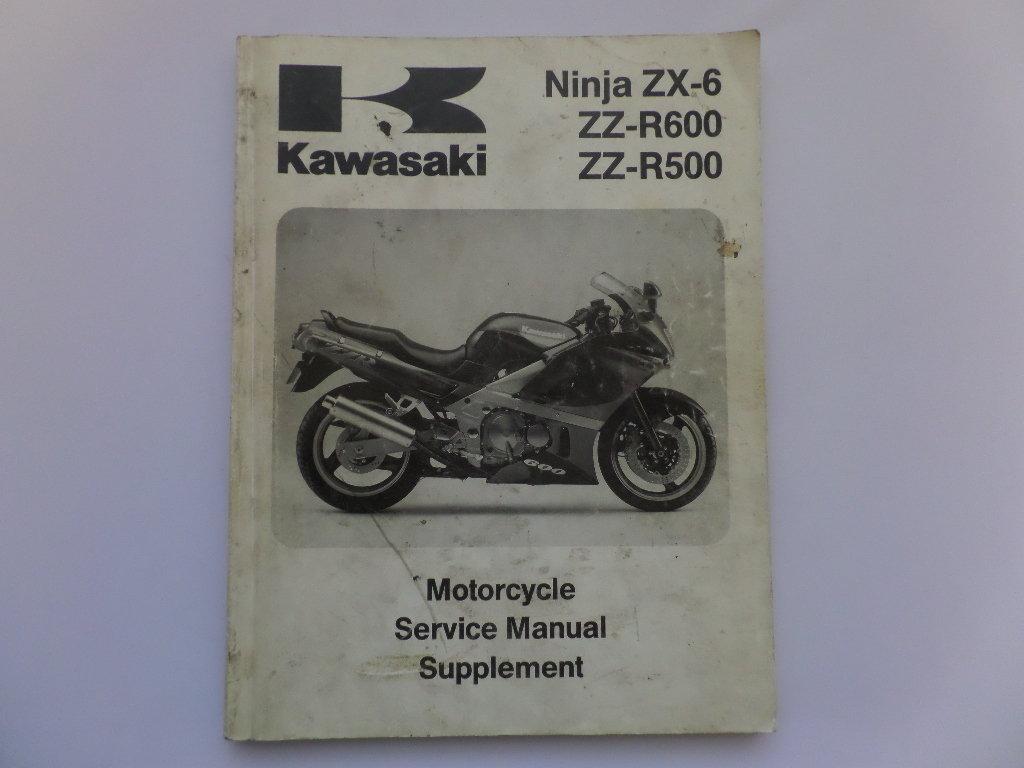 Мануалы и документация для Kawasaki ZZR 400 и ZZR 600
