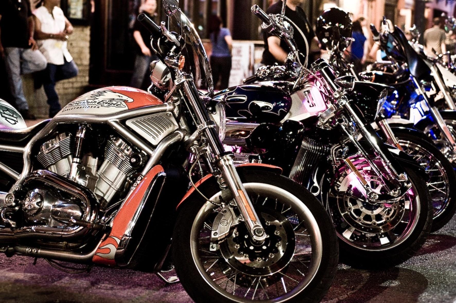 Байкерские мотоциклы