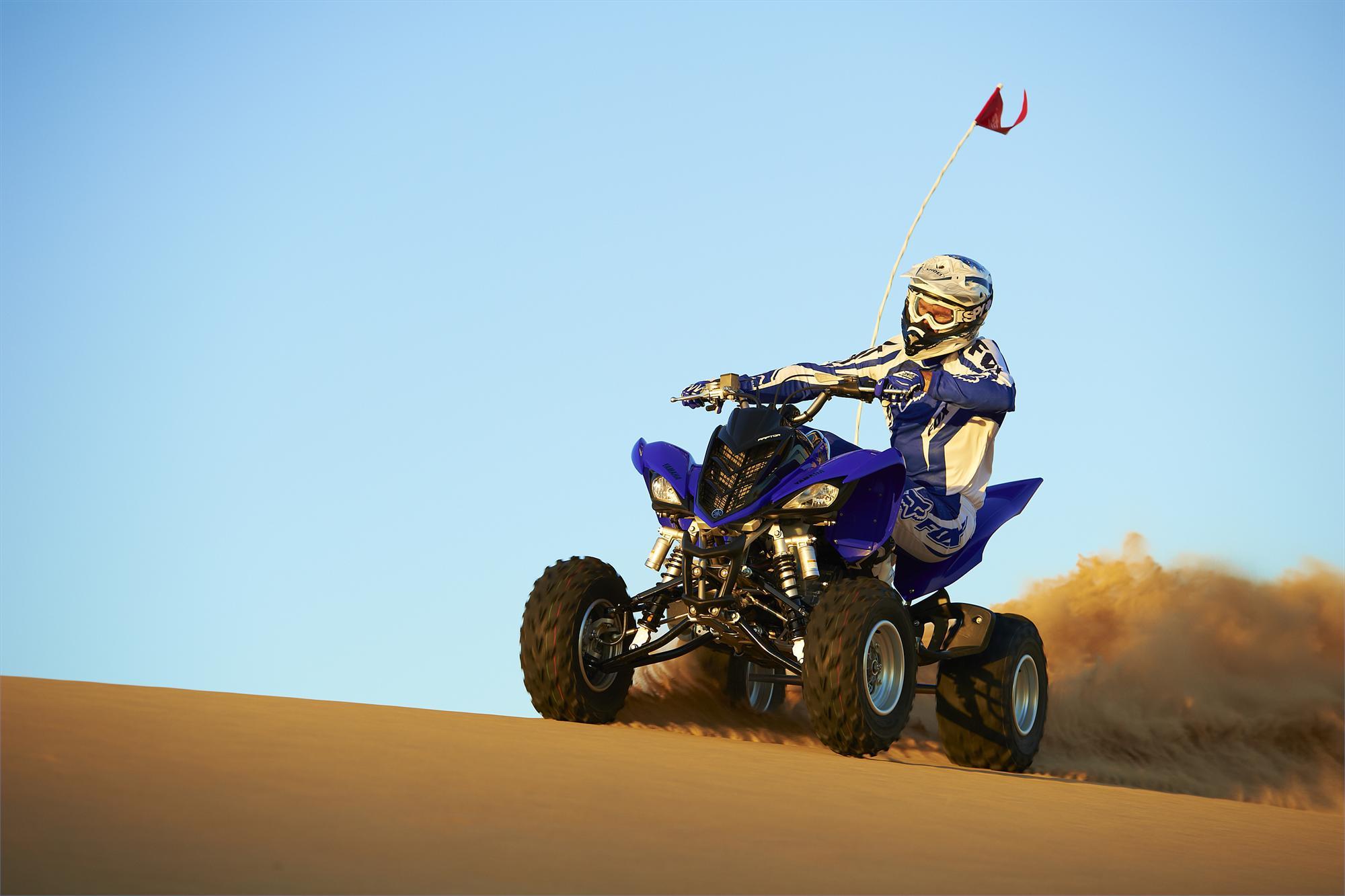 Спортивный квадроцикл Yamaha Raptor (Ямаха Раптор) YFM 250 R — обзор и характеристики модели